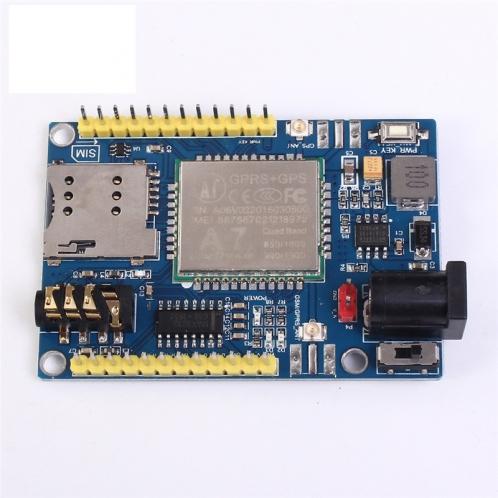 Беспроводной модуль A7 GSM GPRS GPS 3 в 1 модуль щит DC 5-9 В для Arduino STM32 51MCU Поддержка голоса и коротких сообщений.