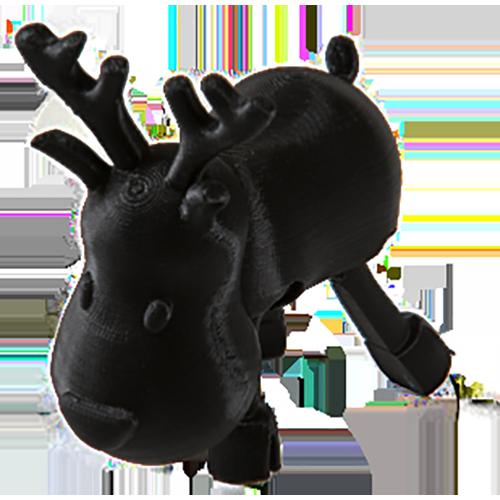 """ABS Нить для 3D принтера """"Proniks"""". Цвет: черный"""