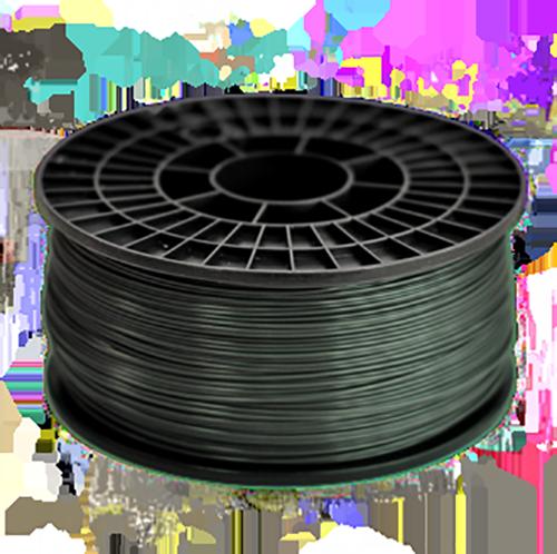 ABS Нить для 3D принтера. Цвет: тёмно-серый