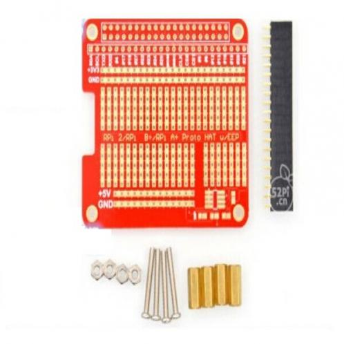 Прототип плата с креплением для Raspberry Pi Модель B/B +/+