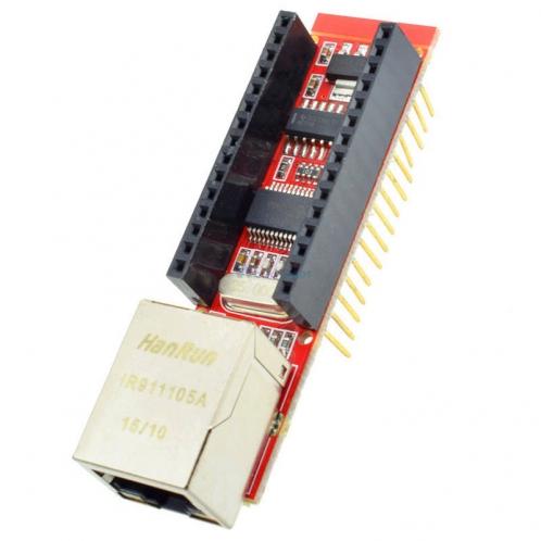 ENC28J60 Ethernet щит V1.0 для Arduino Nano V3 Ethernet щит RJ45 HR911105A WebServer