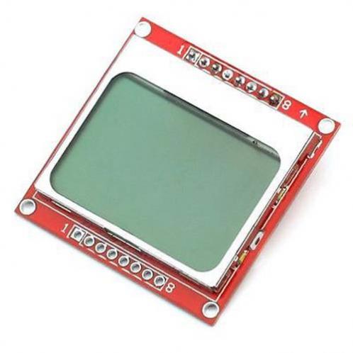 ЖК-Модуль 84x48 Nokia 5110 голубая подсветка для Arduino