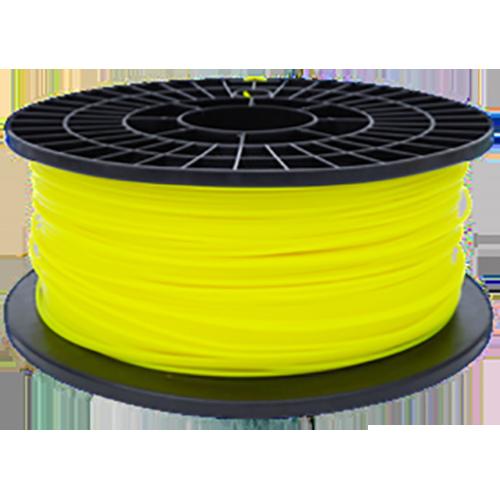 PLA Нить для 3D принтера. Цвет: ярко-жёлтый (флуоресцентный)