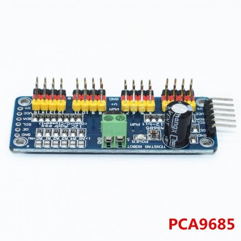 16 канальный 12-битный ШИМ/Servo Driver-I2C интерфейс PCA9685 модуль Raspberry Pi