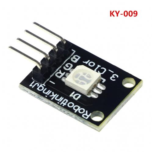 Модуль 3 Цветного RGB SMD светодиода KY-009 для Arduino