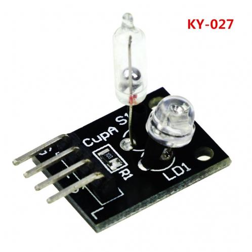 Модуль датчик наклона со светодиодом KY-027 для Arduino