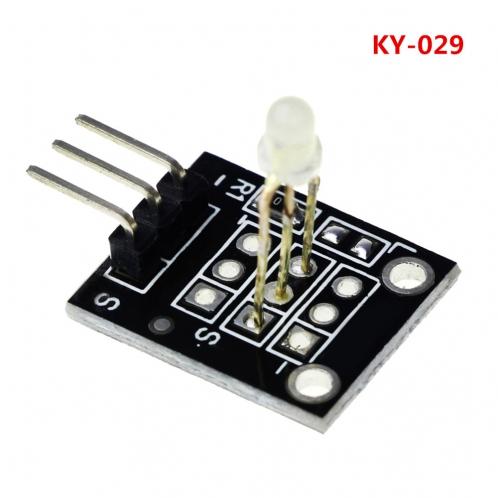 Модуль двухцветного  светодиода, красный и зеленый KY-029 для Arduino