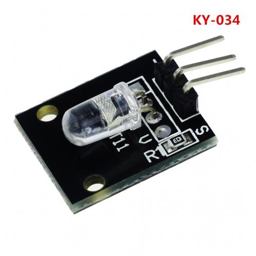 Модуль  мигающего 7-цветами светодиода KY-034 для Arduino