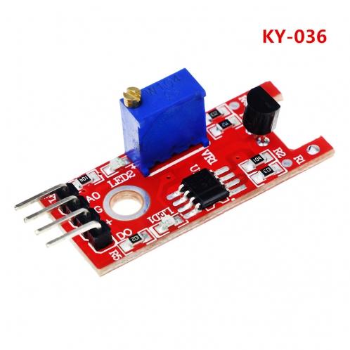 Модуль сенсорного датчика касания KY-036 для Arduino