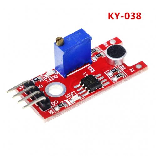 Модуль электретного микрофона KY-038 для Arduino