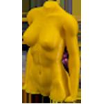 ABS Нить для 3D принтера. Цвет: желтый.