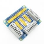 GPIO плата расширения для Raspberry Pi с зажимами и перемычками