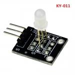 Модуль двух-цветного светодиода, красный и зеленый KY-011 для Arduino