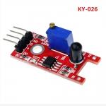 Модуль датчика пламени, инфракрасный KY-026 (длина волны от 760 нм до 1100 нм) для Arduino